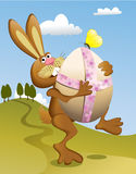 Easter rabbit Royalty Free Stock Photo