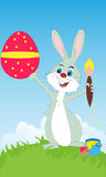 Easter rabbit Royalty Free Stock Photos