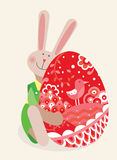 Easter rabbit Royalty Free Stock Photography