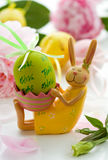 Easter rabbit and egg Stock Photography