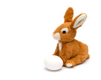 Easter rabbit and egg. Stock Photography