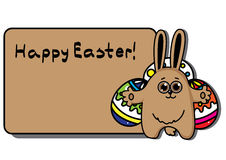 Easter  rabbit with egg Royalty Free Stock Photography