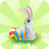Easter rabbit Stock Photography