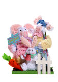 Easter Rabbit Family royalty free stock photo