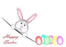 Easter_Rabbit feliz stock de ilustración