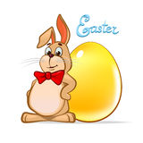 Easter rabbit5 vector illustration