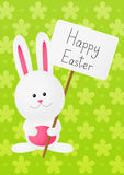 Easter rabbit on green Stock Photo