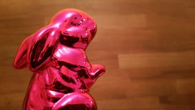 Easter Bunny. Red easter rabbit Royalty Free Stock Photos