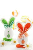 Easter rabbits Royalty Free Stock Image