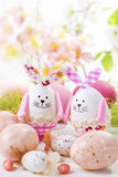 Easter rabbits Stock Photography