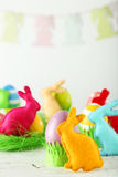 Easter rabbits Stock Photos