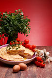 Easter Recipes: Italian Pizza Rustica Royalty Free Stock Image