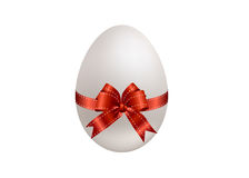 Easter red egg Royalty Free Stock Photo