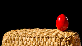 Easter red egg Royalty Free Stock Image