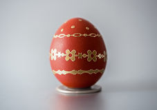 Easter red egg Stock Photography