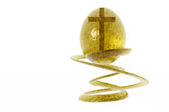 Easter religious. Easter religious on white background Stock Photos