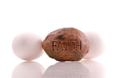 Easter Religious Faith Concept. Easter And Religious Faith Concept Stock Photography