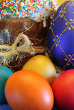 Easter- religious holiday. Easter motifs Royalty Free Stock Photos