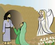 Easter/ressurreição de Christ ilustração stock