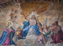 Easter resurrection mosaic royalty free stock photo