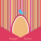 Easter retro card Royalty Free Stock Photos