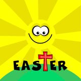 Easter retro Funky Foto de Stock Royalty Free