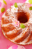 Easter ring cake Stock Images