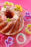 Easter ring cake Royalty Free Stock Image