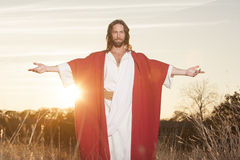 Easter Risen Embrase Royalty Free Stock Image