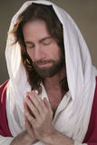 Easter Risen Prayer Hands Royalty Free Stock Photography