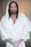 Easter Risen from tomb in white Stock Photo