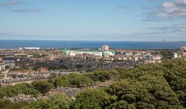 Easter Road Stadium in Edinburgh, Scotland Stock Photography