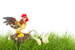 Easter rooster Royalty Free Stock Photography