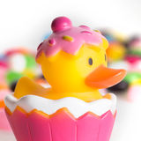 Easter Rubber Ducks Royalty Free Stock Images