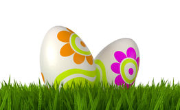 Easter's eggs Stock Photo