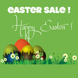 Easter sale Royalty Free Stock Photos