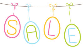 Easter sale Stock Photo