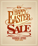 Easter sale, holiday savings design. Royalty Free Stock Photos