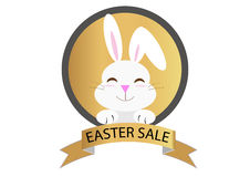 Easter sale message Royalty Free Stock Images