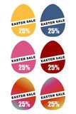 Easter sale promotional banner design Royalty Free Stock Photography