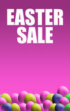 Easter Sale Poster Stock Photography