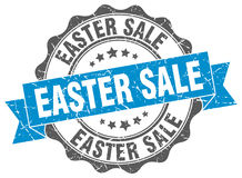 Easter sale stamp. Sign. seal Stock Photo