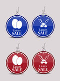 Easter sale tags Royalty Free Stock Photo