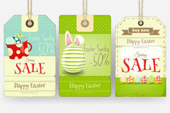 Easter Sale Tags Royalty Free Stock Images