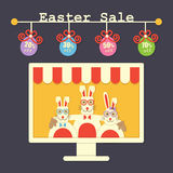 Easter sale Royalty Free Stock Photography