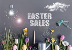 Easter sales Royalty Free Stock Photos