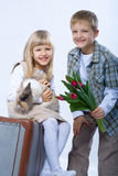 Easter scene Royalty Free Stock Photos