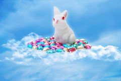 Easter scene royalty free illustration