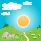 Easter scene Stock Image