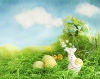 Easter scene royalty free stock photo